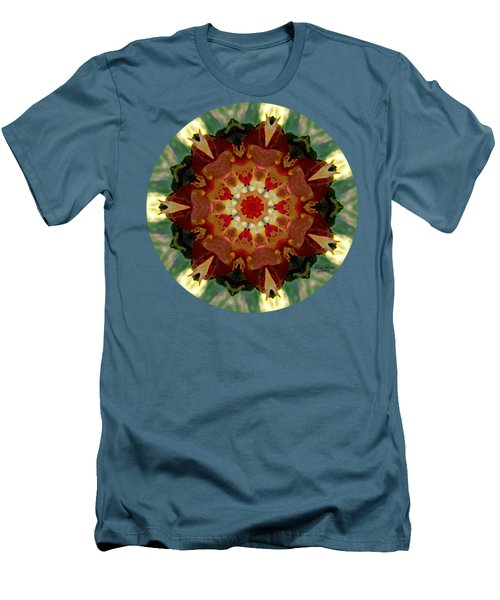 Kaleidoscope - Warm And Cool Colors Men's T-Shirt (Athletic Fit)