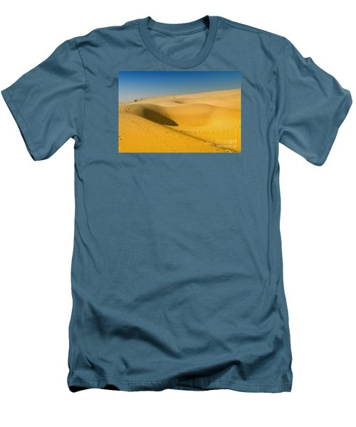 Men's T-Shirt (Athletic Fit) featuring the photograph Khuri Desert by Yew Kwang