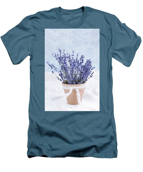 Lavender Men's T-Shirt (Athletic Fit)