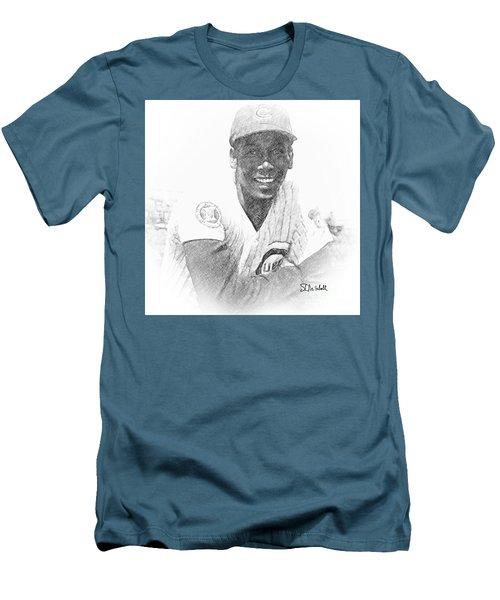 Ernie Banks Men's T-Shirt (Athletic Fit)