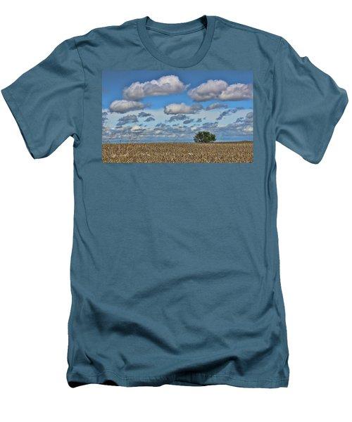 Lone Tree Men's T-Shirt (Slim Fit) by Sylvia Thornton