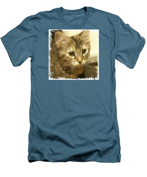Ellie Kitty Men's T-Shirt (Athletic Fit)