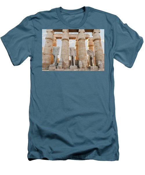 Men's T-Shirt (Athletic Fit) featuring the photograph Luxor by Silvia Bruno