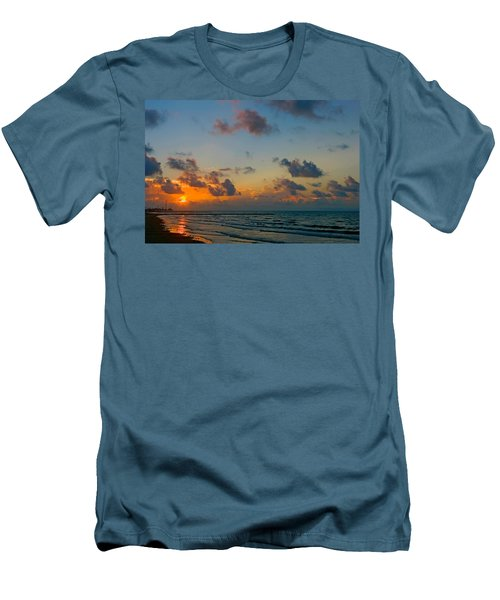 Morning On The Beach Men's T-Shirt (Athletic Fit)