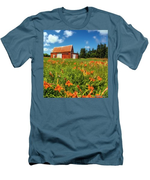 Old Barn In Cape Breton #2 Men's T-Shirt (Athletic Fit)