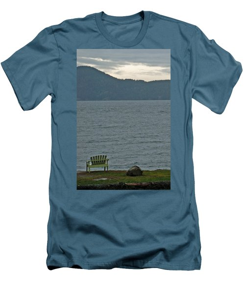 Orcas Island View Men's T-Shirt (Athletic Fit)