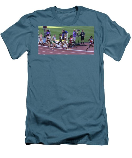 Pam Am Games. Athletics Men's T-Shirt (Athletic Fit)