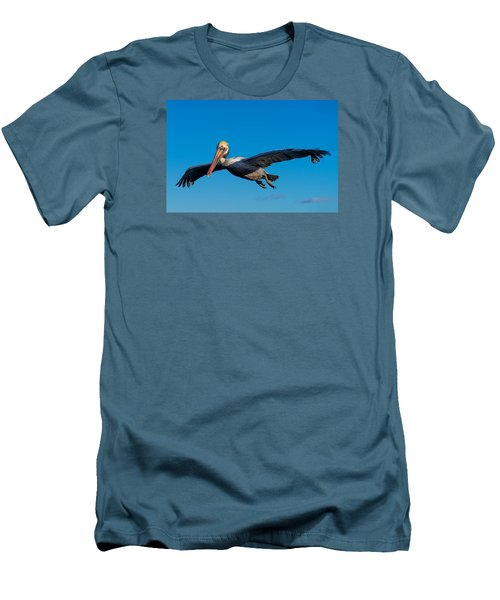 Pelican Men's T-Shirt (Slim Fit) by Derek Dean