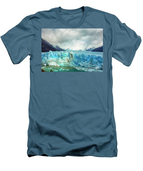 Perito Moreno Glacier Men's T-Shirt (Athletic Fit)