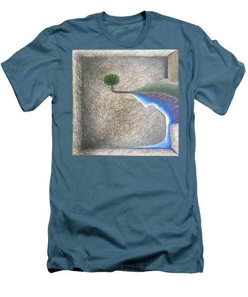 Pillow Men's T-Shirt (Slim Fit) by Steve  Hester