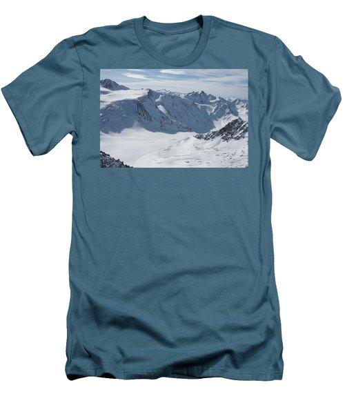 Pitztal Glacier Men's T-Shirt (Slim Fit) by Christian Zesewitz