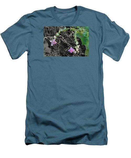 Men's T-Shirt (Slim Fit) featuring the photograph Pop Of Color  by Deborah  Crew-Johnson