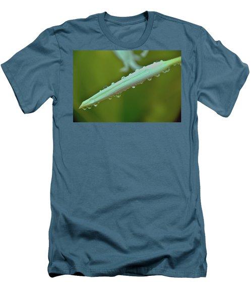 Raindrop Visioins Men's T-Shirt (Slim Fit) by Michael Courtney