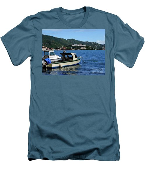Ready To Go Men's T-Shirt (Slim Fit) by Gary Wonning