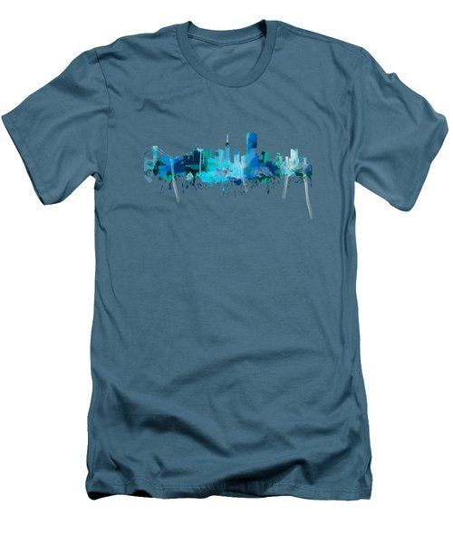 San Francisco Men's T-Shirt (Slim Fit) by Mark Ashkenazi
