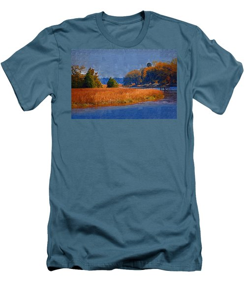 Sitting On The Dock Men's T-Shirt (Athletic Fit)