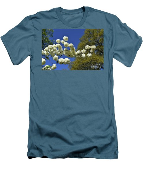 Men's T-Shirt (Slim Fit) featuring the photograph Snowballs by Skip Willits