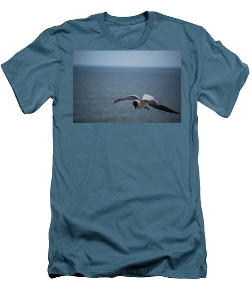 Men's T-Shirt (Slim Fit) featuring the photograph Soaring by Debbie Karnes
