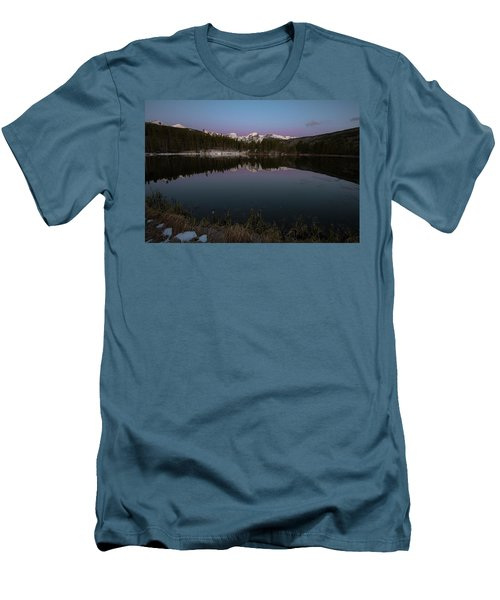 Sprague Lake Men's T-Shirt (Slim Fit) by Gary Lengyel