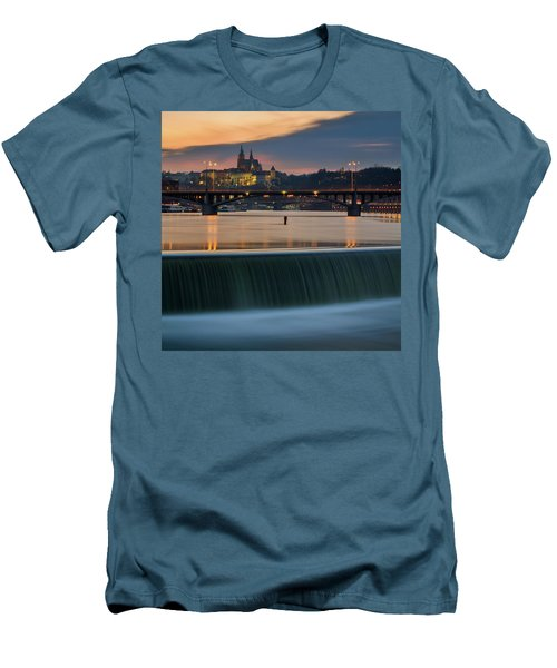 St. Vitus Cathedral, Prague, Czech Republic Men's T-Shirt (Athletic Fit)