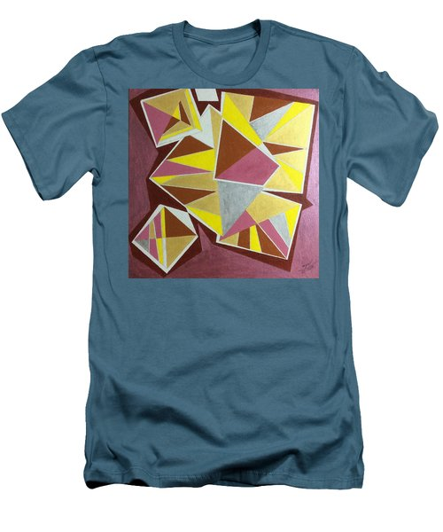 Men's T-Shirt (Slim Fit) featuring the painting Summer by Hang Ho