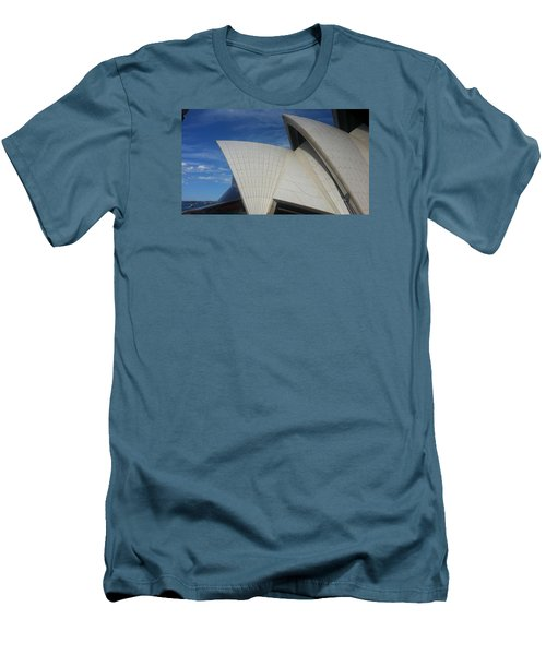 Sydney Opera House Men's T-Shirt (Slim Fit) by Bev Conover