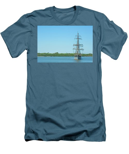 Tall Ship Elissa Men's T-Shirt (Athletic Fit)
