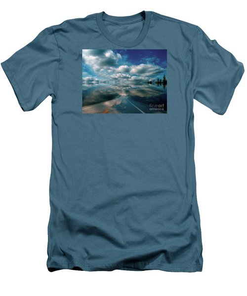 Men's T-Shirt (Slim Fit) featuring the photograph The Dream by Elfriede Fulda