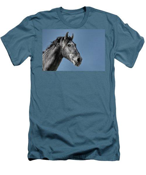 The Stallion Men's T-Shirt (Slim Fit) by Michael Mogensen