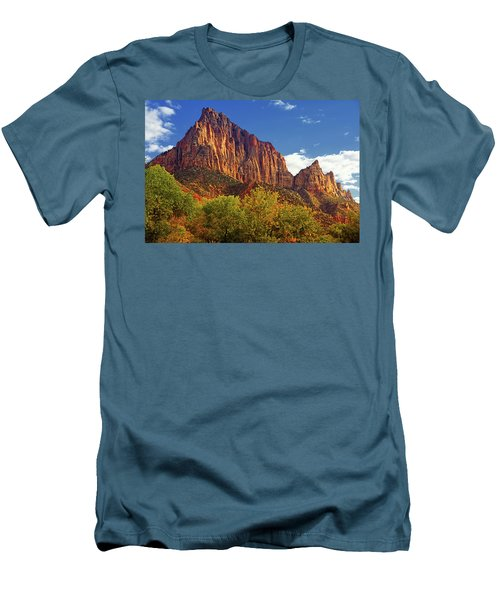 The Watchman Men's T-Shirt (Slim Fit) by Raymond Salani III