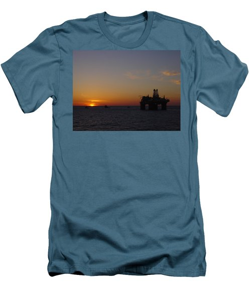 Thunder Horse Tow Out Men's T-Shirt (Athletic Fit)
