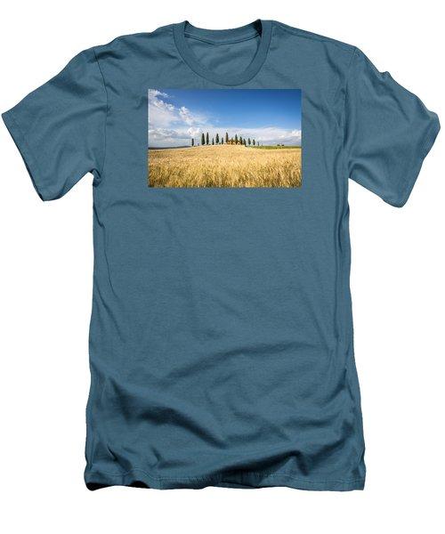 Tuscan Villa Men's T-Shirt (Athletic Fit)