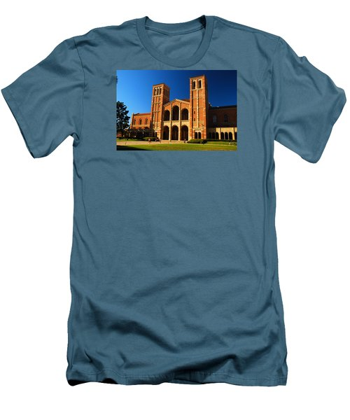 Men's T-Shirt (Slim Fit) featuring the photograph Ucla by James Kirkikis