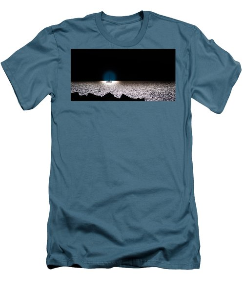 Men's T-Shirt (Slim Fit) featuring the photograph Vela by Bruno Spagnolo
