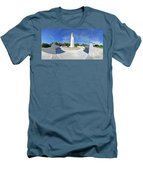 Veterans Freedom Park, Cary Nc. Men's T-Shirt (Athletic Fit)