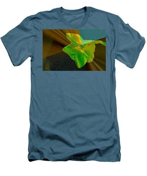 Men's T-Shirt (Slim Fit) featuring the photograph View Of A Daffodil by Jeff Swan