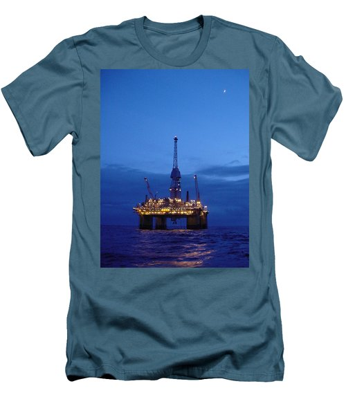 Visund In The Twilight Men's T-Shirt (Athletic Fit)