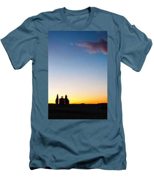 Vitaleta Chapel Men's T-Shirt (Athletic Fit)