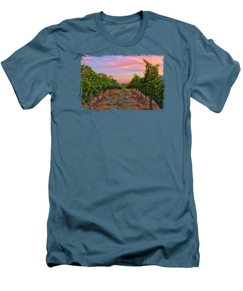 Walla Walla Wine Country Men's T-Shirt (Athletic Fit)