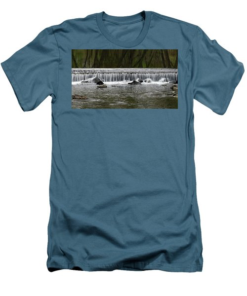 Waterfall 003 Men's T-Shirt (Athletic Fit)