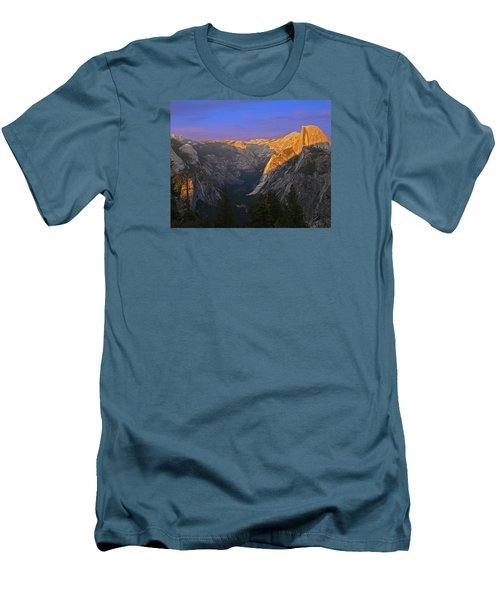 Yosemite Summer Sunset 2012 Men's T-Shirt (Slim Fit)
