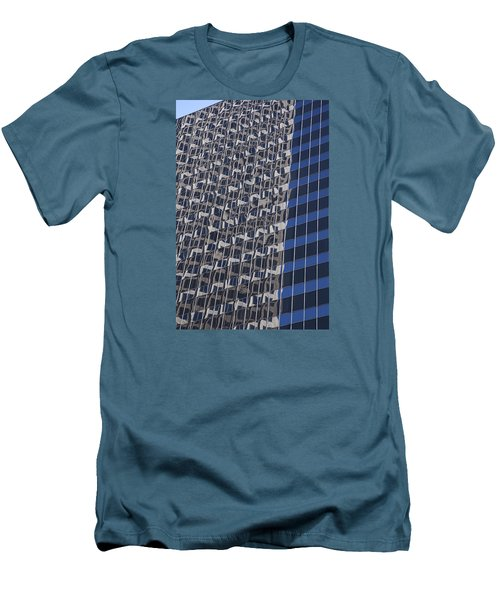 You Can Always Go Downtown  Men's T-Shirt (Athletic Fit)