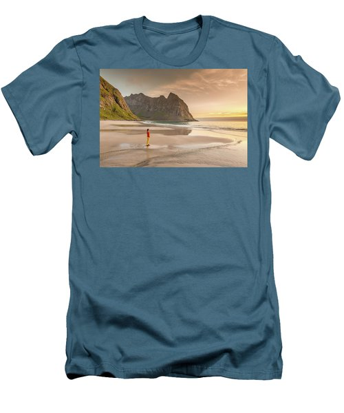 Your Own Beach Men's T-Shirt (Slim Fit)