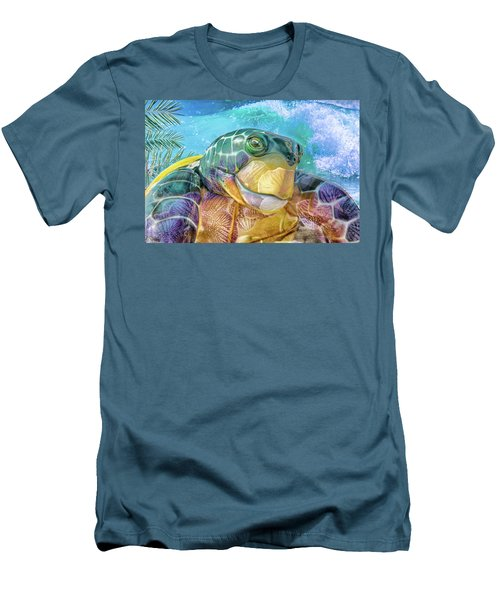 10730 Mr Tortoise Men's T-Shirt (Athletic Fit)