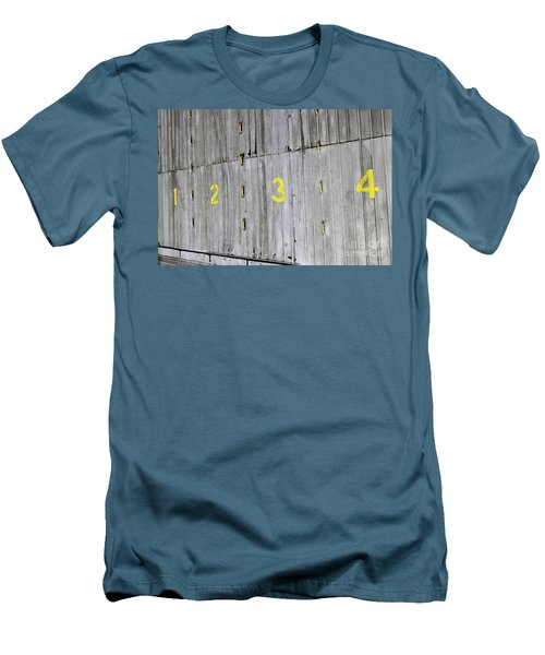 Men's T-Shirt (Slim Fit) featuring the photograph 1234 by Stephen Mitchell