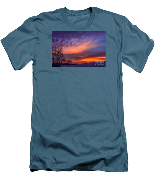 Dawn Of The Day Men's T-Shirt (Slim Fit) by Thomas R Fletcher