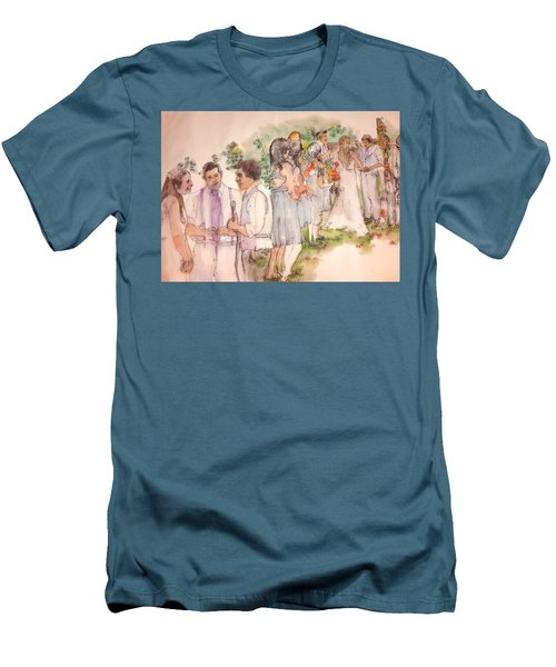 The Wedding Album  Men's T-Shirt (Slim Fit)