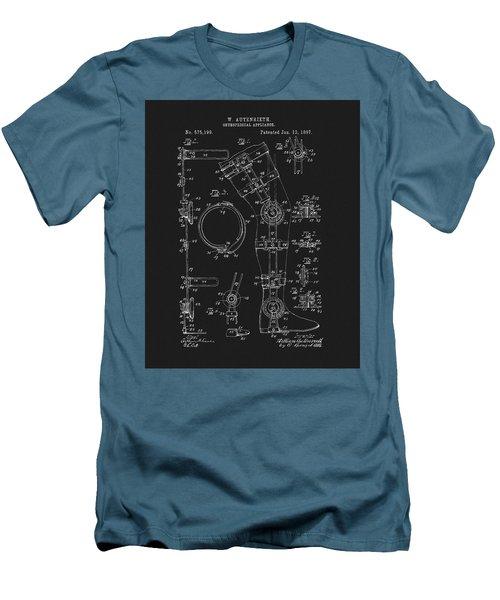 1897 Artificial Leg Patent Men's T-Shirt (Slim Fit) by Dan Sproul