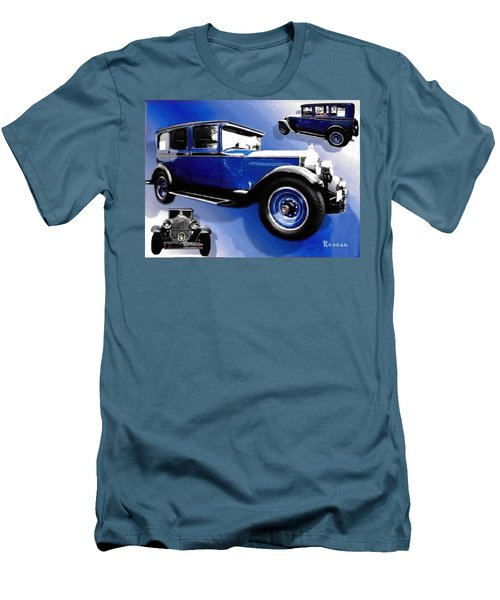 Men's T-Shirt (Slim Fit) featuring the photograph 1927 Packard 526 Sedan by Sadie Reneau