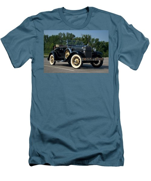 1931 Ford Model A Roadster Men's T-Shirt (Slim Fit) by Tim McCullough